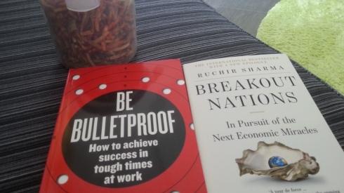 I'm a happy bookworm!